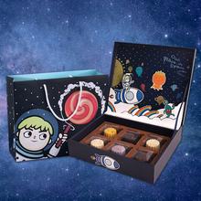 Оригинал мультики выпекать выпекать пакет подарочные коробки подарок коробка торт подарок месяц пирог коробка трехмерный коробка упаковать в бумажную коробку коробка