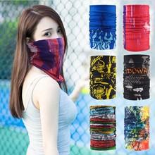 На открытом воздухе разнообразие магия шарф лето солнцезащитный крем ошейники верховая езда маска для лица все лицо мужской и женщины движение хип-хоп нагрудник шарф