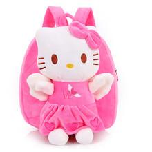 Дети ребенок портфель ребенок рюкзак 1-2-3-4 лет детский сад плечи милый KT женщина-кошка ребенок девочки мешки