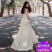 Департамент свет свадьба небольшой продольный мазок слово плечо корейский простой тонкий принцесса цветы из ворота пряжа бригада бить 2017 новый