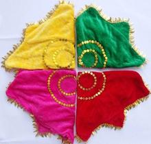 К северо-востоку два поворот рука шелк цветок твист саженец песня танец рука шелк бархат восьмиугольный полотенце студент производительность из танец носовой платок