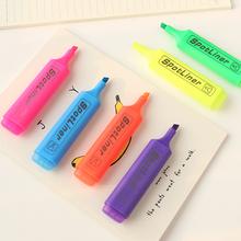 Корея студент канцтовары конфеты флуоресцентный ручка творческий граффити цвет пометка карандаш вес точка писец косой марк карандаш