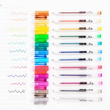 Мини цвет флуоресцентный ручка творческий рука счет запомнить вещь примечания канцтовары изучение офис статьи шариковая ручка пометка карандаш