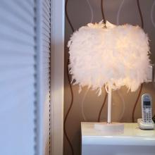 Континентальный мода перо этаж настольные лампы выйти замуж праздновать нордический декоративный освещение спальня прикроватный творческий гостиная маленькие огни украшения