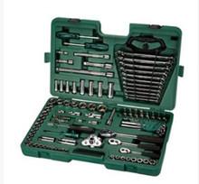 Мир достигать 121 наборы пар ремонт набор инструментов автомобиль служба установите 120+1 наборы трубка гаечный ключ сочетание 09014A
