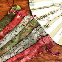 ( без веер )10 дюймовый высокой качество подарка руки работа вышивка сложить вентилятор люди кожух вентилятора вентилятор мешок китайский ветер подарок