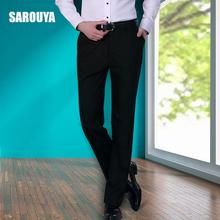 Мужской брюки лето слим типа тонкая модель костюм брюки бизнес повседневный свободный оккупация костюм брюки мужчина официальная одежда брюки