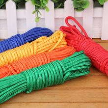 Веревка обязательный веревка нейлон веревка прачечная веревка пакет наконечник веревка шнурок галстук веревки DIY ручной пригодный для носки цвет декоративный