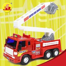 Сила прибыль ребенок игрушка автомобиль роскошь инерция пожарные машины масштабирование лестницы автомобиль роскошь инерция ясно барьер автомобиль уличные служба автомобиль