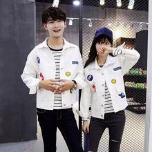 Пару костюм весна 2017 новый корейский свитер пальто мужской и женщины свободный бейсбольная форма весенний и осенний сезон. студент класс обслуживания волна