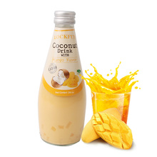 【 рысь супермаркеты 】 таиланд импорт музыка может аромат /LOCKFUN манго вкус кокос сок 290ml кокос вода