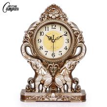 Мир пакистан провод творческий континентальный сиденье колокол сельская местность гостиная часы ретро прикроватный часы спальня немой тайвань колокол