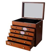 Спеццена доставка включена шкатулка деревянный аксессуары коробка континентальный принцесса в коробку большой размер практический выйти замуж подарок