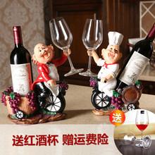 Личность вино полка украшение творческий континентальный гостиная бутылка красная рамка бокал полка смола вино поднятый таз для ног полка