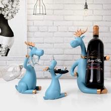 Тысяча восторг творческий вино полка домой украшение красное вино кубок вино полка простой гостиная вино бар хранение полка