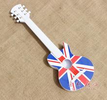 Пластик сша британский флаг гитара новый тень этаж свадьба фотография реквизит ребенок производительность фотографировать игрушка