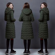 2017 осень зима женщины в обратных сезон хлопок девочки длинная модель студент корейский ватник мягкий сестра зима пальто женщина подбитый