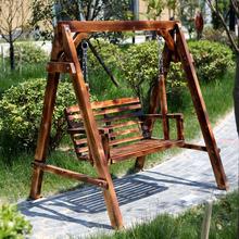 Красивый небо дерево промышленность спеццена доставка включена дерево качели на открытом воздухе качели кресло-качалка обуглевание качели антикоррозийный дерево вешать стул