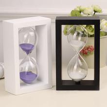 Творческий песочные часы украшение 304560 плывун живопись ретро время песочные часы таймер магнитная сила декоративный товары поставка церемония