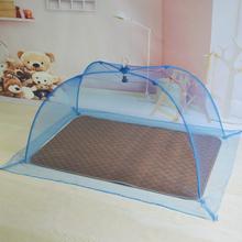 Кровать для младенца ребенок сетка от комаров крышка бездонный без установки складные этаж новорожденных дети ребенок комар крышка юрта
