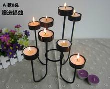 Континентальный железо свеча тайвань творческий день святого валентина романтический свеча свет ночь еда свадьба фотография реквизит день рождения подарок