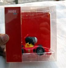 【 оригинальные издание 】F1 ferrari автоколонна гоночный модель визитная карточка клип затем знак клип ручной работы глина производство