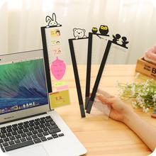 Япония и южная корея канцтовары творческий экран дисплей сторона оставить сообщение доска прозрачный компьютер затем знак доска затем прибыль паста доска затем наклейки это