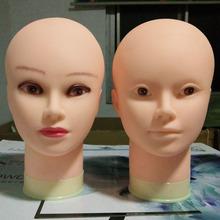 Бесплатная доставка модель глава ложный люди парик стоять кукла глава плесень высокое качество мягкий небольшой бритоголовый составить косметология практика глава