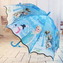 Ребенок зонт мужской и женщины автоматическая маленькая волшебная фея аиша лед романтика аиша принцесса зонт сковорода зонт группа свисток бесплатная доставка