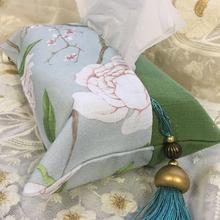 Ткань льняная ткань творческий насосные коробка сельская местность ручной работы ткань бумажные полотенца манжеты вешать шип гостиная бумажные полотенца крышка домой автомобиль
