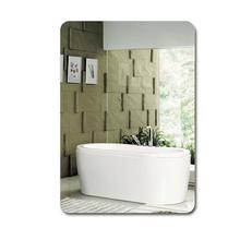 Стена ванная комната зеркало ванная комната зеркало ванная комната зеркало бескаркасный мойте руки между зеркало настенный зеркало липкий паста соус зеркало