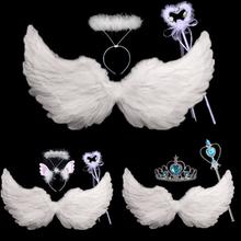 Ангельские крылья ребенок перо ангельские крылья крыло для взрослых большой производительность реквизит невеста цветок ребятишки играть