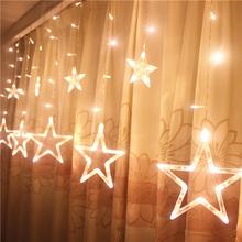 Led звезда свет малый свет вспышка строка свет в небе звезда спальня занавес свет вешать свет декоративный свет романтический небольшой свежий