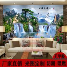 Uv доска внимание / диван фон стена китайский стиль 3D трехмерный гостиная декоративный nano влагостойкий камень модель фон живопись