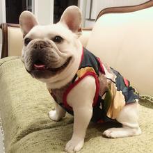 Франция борьба одежда жилет T футболки летний костюм домашнее животное одежда собака лето модель пакистан брат тонкая модель ноги хеджирование жир собака одежда