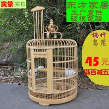 Высококачественный бамбук молочница клетка восемь брат Восточная крапивник брат бамбук клетка дом тип птица культура птица домашнее животное большой размер клетка бесплатная доставка