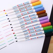 12 цвет компетентный цвет белая доска карандаш офис обучение студент ребенок вода живопись карандаш легко тапки для натирания пола не оставляйте отметина бесплатная доставка