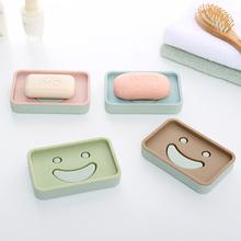 Домой домой мультики улыбка двойной мыло коробка дренажный мыло полка ванная комната творческий мыло уход туалетное мыло полка туалетное мыло коробка
