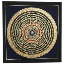 Тибет ручная роспись династия тан карта украшения живопись вход картины мантр большой следующий проклятие живая дорога стена живопись будда зал декоративный статьи