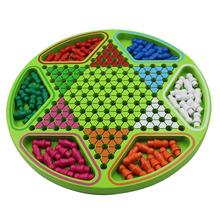Бутик шестиугольник шашки для взрослых ребенок головоломка категория игра шахматы карты головоломка игрушка отцовство стол тур спеццена доставка включена