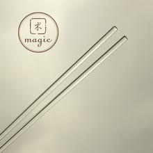 Ручной работы мыло diy материал высококачественных стекло палка стекло размешивать сопротивление распад затмение палка круглый жирный 2 загружен