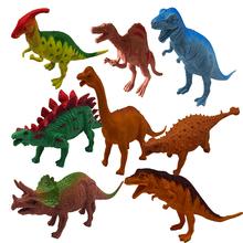 Ребенок динозавр игрушка установите тихий государственный модель моделирование животное большой размер тираннозавр карликовый ло дисциплина парк мальчик 36 лет