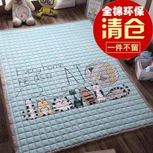 Хлопок охрана окружающей среды сгущаться ребенок ползать колодка ребенок подъем подъем подушка сложить коврики скольжение машинная стирка домой спальня гостиная