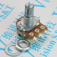 WH148 B10K совместное объем электричество локатор 15MM B1K2K5K20K50K100K250K500K1M