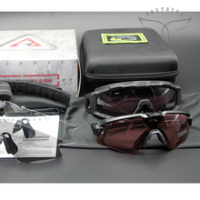 Военная версия O запомнить M Frame Alpha очки сын привел тактический очки противо бомба стрелять забастовка очки четыре линза