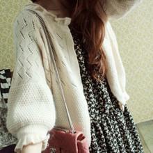 Осень новый волосы свитер тонкий кардиган женщины пирсинг шелк льда краткое модель свитер пальто женщина кондиционер рубашка кондиционер рубашка