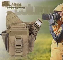 Армия фанатов подлинная мужчина женщина на открытом воздухе мешок многофункциональный седло мешок упакован грудь одноместный плечо посланник цифровой камера пакет рюкзак