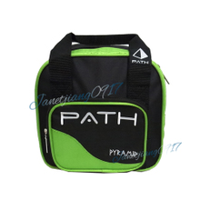 Новые товары !BBC пирамида роскошь боулинг мешок мяч ручная сумку мешок PATH5 факультативный ! зеленый