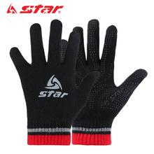 Star мир достигать футбол обучение холодный перчатки случайный движение перчатки мужской и женщины осень и зима скольжение теплый существует ребенок
