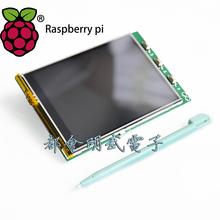Raspberry Pi 3.2 дюймовый BB+ LCD малина пирог сенсорный экран дисплей экран